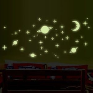 Kids Glow in the Dark Wall Stickers